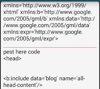 pest-code on <head>