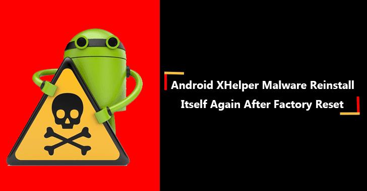 Android XHelper Malware