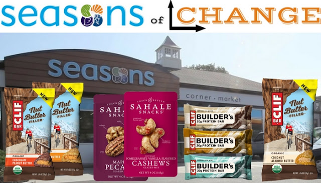 seasons of change sahale snacks clif bars