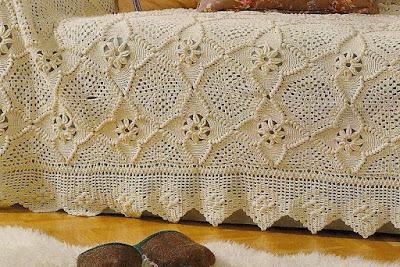 crochet  вязание, плед/blanket, схемы/pattern,