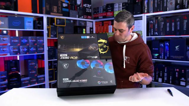 Intel 11th Gen Rocket Lake CPU Review Kit