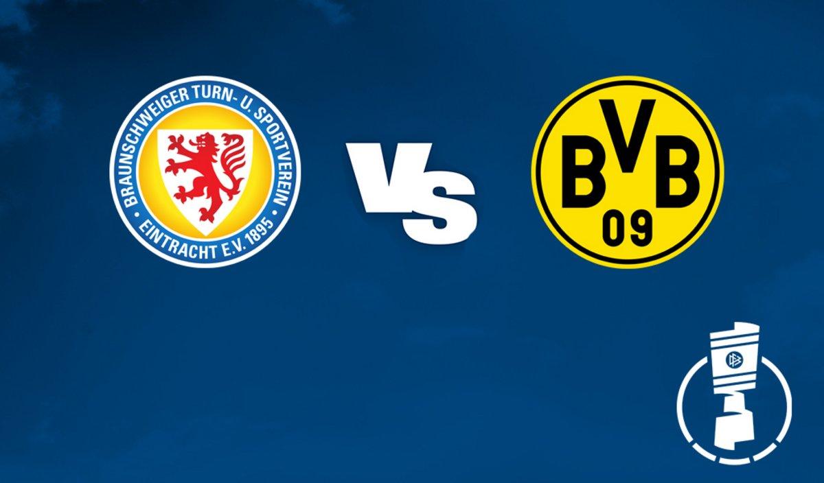 بث مباشر مباراة بوروسيا دورتموند واينتراخت براونشفايغ