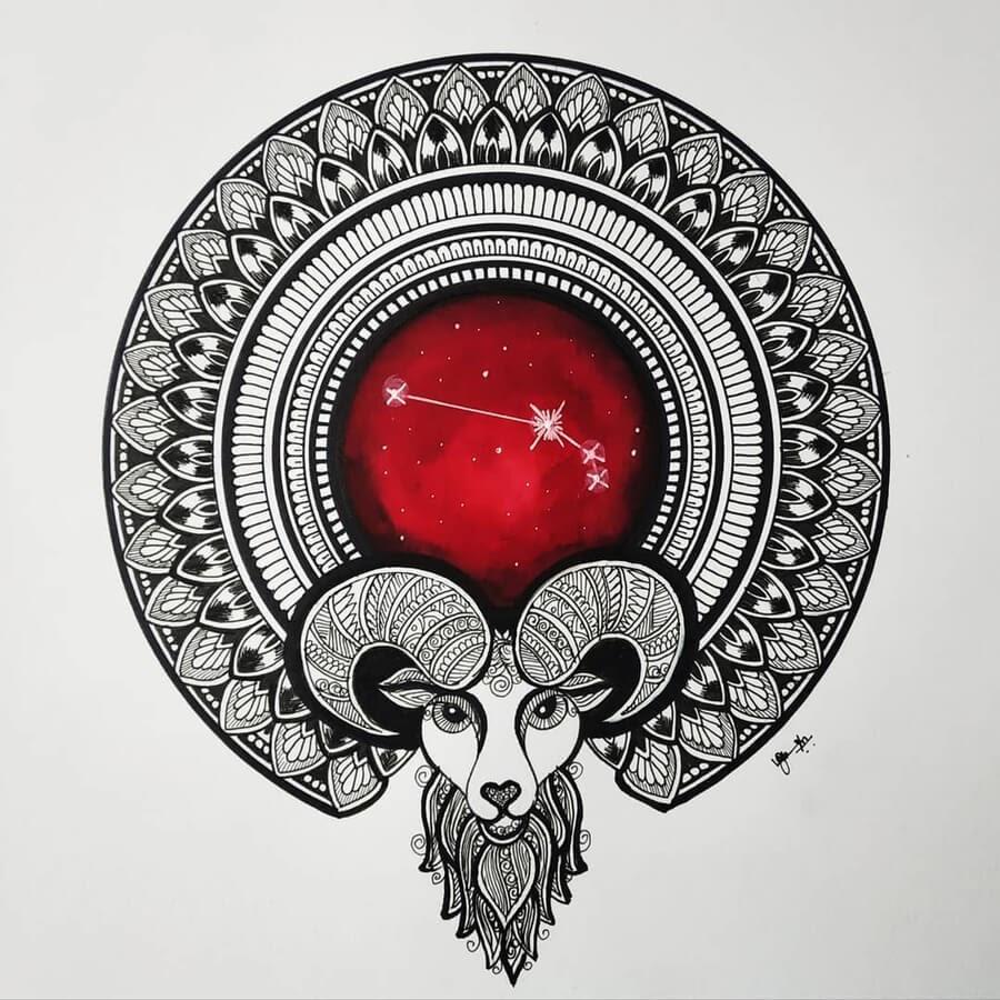 01-Zodiac-sign-Aries-Madhusuja-www-designstack-co