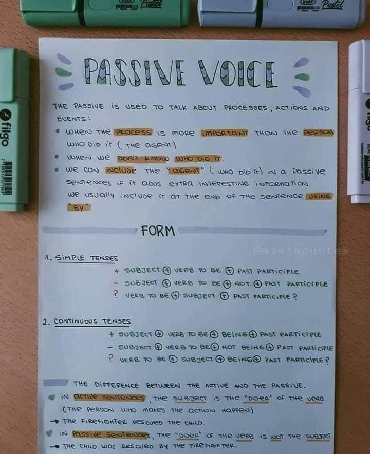 مراجعة لغة انجليزية ثالثة ثانوي | ملخص جرامر لطيف جداً 25