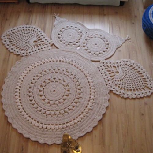 Hedvig Owl Carpet - Free Pattern