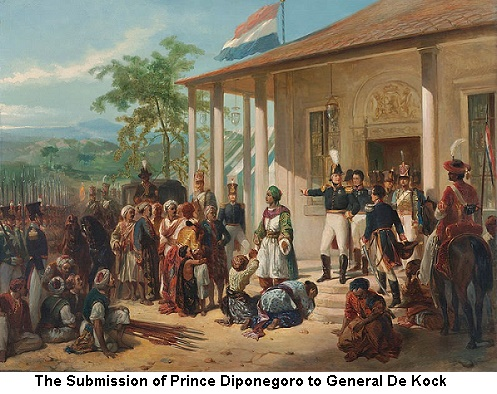 The Submission of Prince Diponegoro to General De Kock
