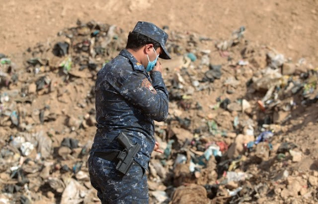"#GruesomeCrimes : The bodies of some 4,000 Islamic State victims have been discovered by Iraqi forces in the ""Khasfa mass grave"""