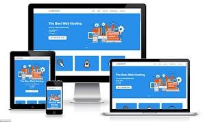 Template Blogspot Landing Page LanHost Service