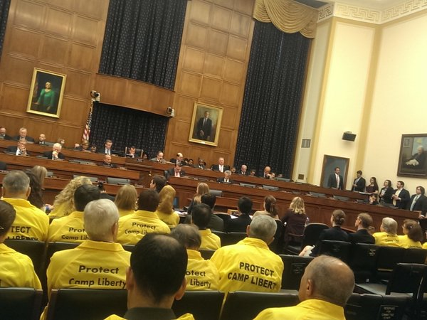 Iran- U.S. House Foreign Affairs Committee passes resolution on Camp Liberty
