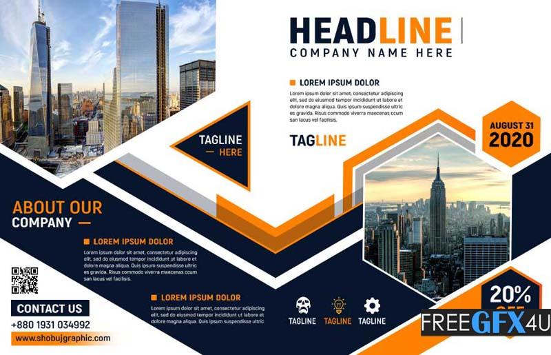 Professional Bi fold Brochure Design