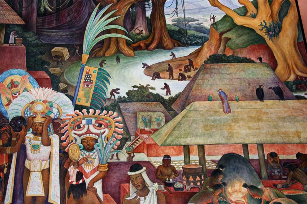 Jose antonio bru blog el muralista diego rivera la for Arte mural en mexico