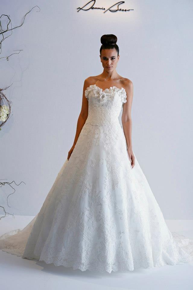 Dennis Basso 2013 Spring Bridal Wedding Dresses - World of ...