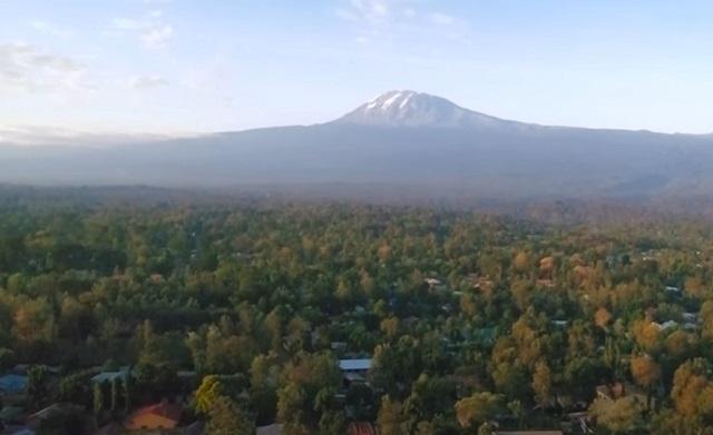 gunung tertinggi di afrika