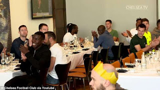 Mikel Obi & Other Chelsea Team M@tes Mark End Of The Year With A Grand Celebration (Photos)