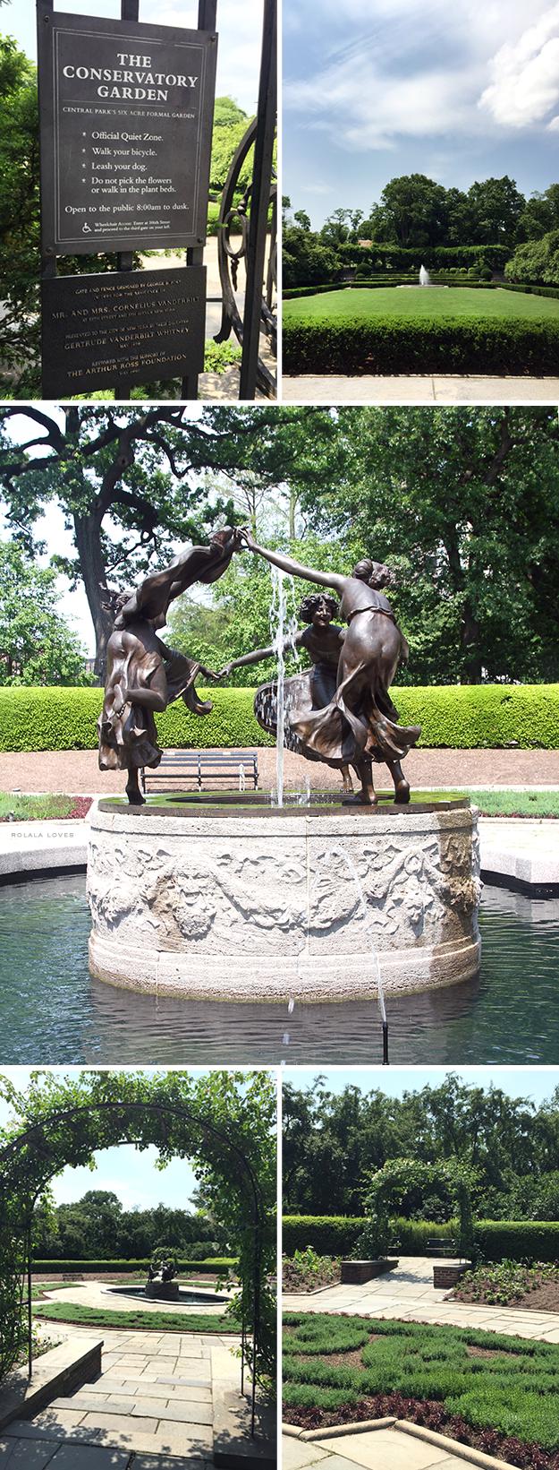 Untermyer Fountain Central Park Conservatory Garden