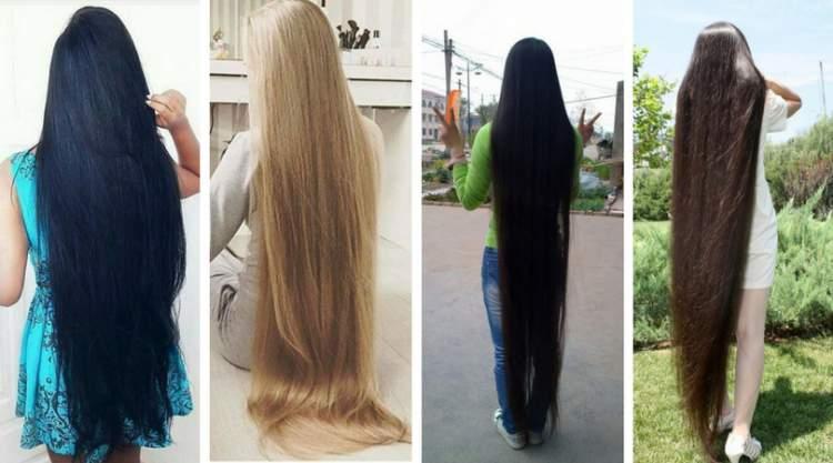Chás que fazem os cabelos crescerem mais rápido