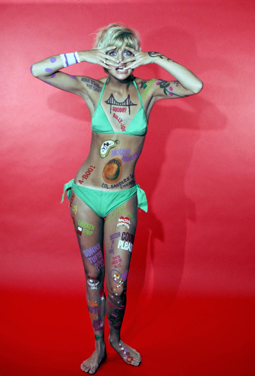 Hot video... free nude goldie hawn