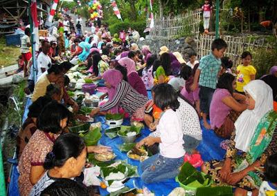 Tradisi Budaya Sedekah Bumi Gresik