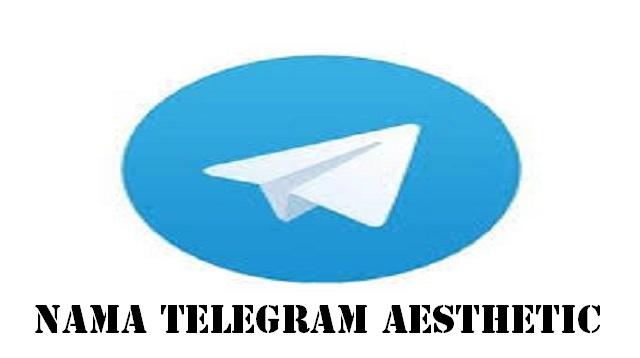 Nama Telegram Aesthetic