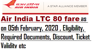air-india-ltc-80-fare-as-on-05th-february-2020