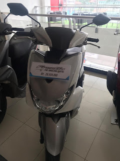 Yamaha Freego Metalic White
