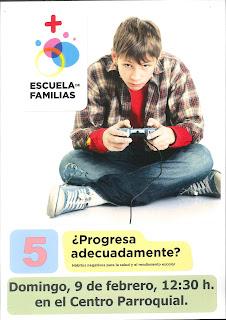 9-II-20, Escuela de Familias: Hábitos negativos para la salud y el rendimiento escolar