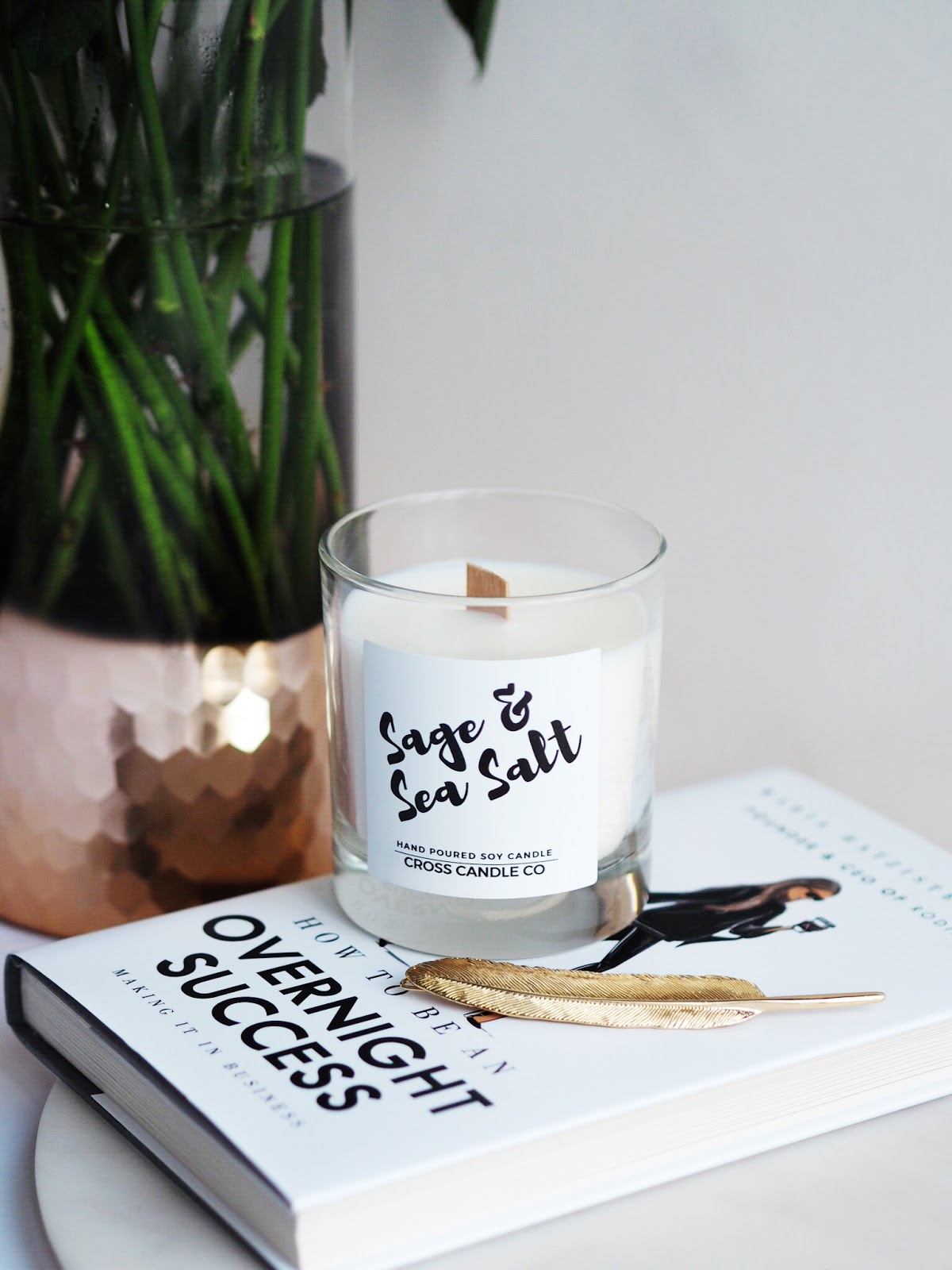 Lifestyle | A New Venture & Giveaway - Cross Candle Co