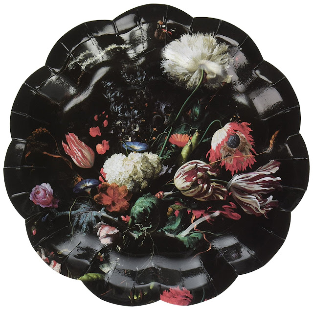 I am really tempted by the darkly botanical still-life themed \ Porcelain Baroque\  foiled paper plates from Talking Tables. I probably spent too many years ...  sc 1 st  Goth Shopaholic & Goth Shopaholic: Dark and Elegant Paper Plates for Creating a ...