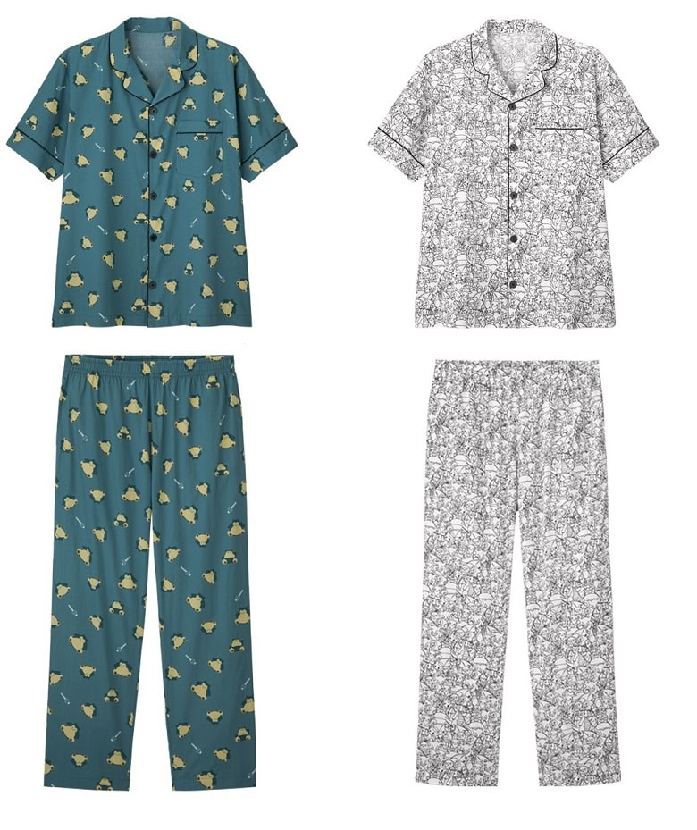 Pokemon x GU Collaboration sleepwear
