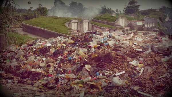 tps, tempat pembuangan sampah, makam