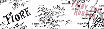 O reino de Fiore é um país neutro com cerca de 17 milhões de habitantes. Em Fiore a magia é usada constantemente, sendo parte importante da vida das pessoas.  Ela é usada para diversão, pequenos afazeres e a trabalho. As pessoas que utilizam a magia para o trabalho são chamadas de magos. Existe uma quantidade enorme de guildas no país.    As cinco guildas mais conhecidas de Fiore são:  • Fairy Tail • Lamia Scale • Blue Pegasus • Quatro Cerberus • Cait Shelter