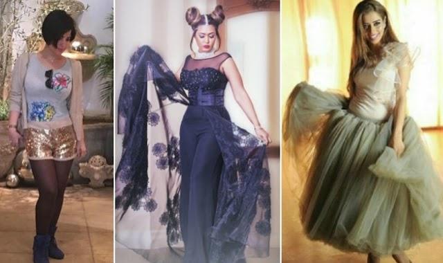 تصميمات غريبة و صور أزياء نجمات الخليج التي أثارت الجدل بجرأتها