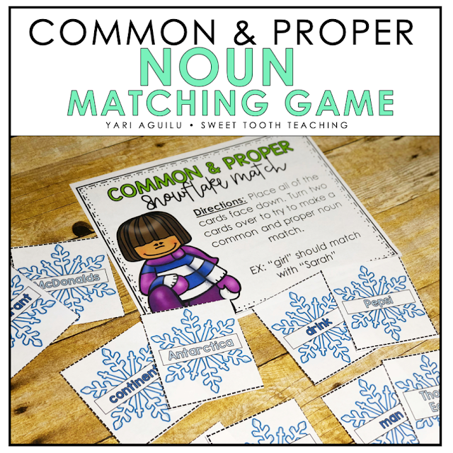 Noun Matching Game