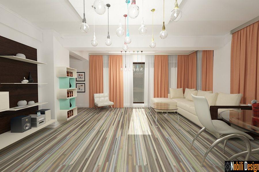 Design interior apartament 3 camere stil modern-Servicii design interior-Arhitect-Amenajari Interioare-Bucuresti