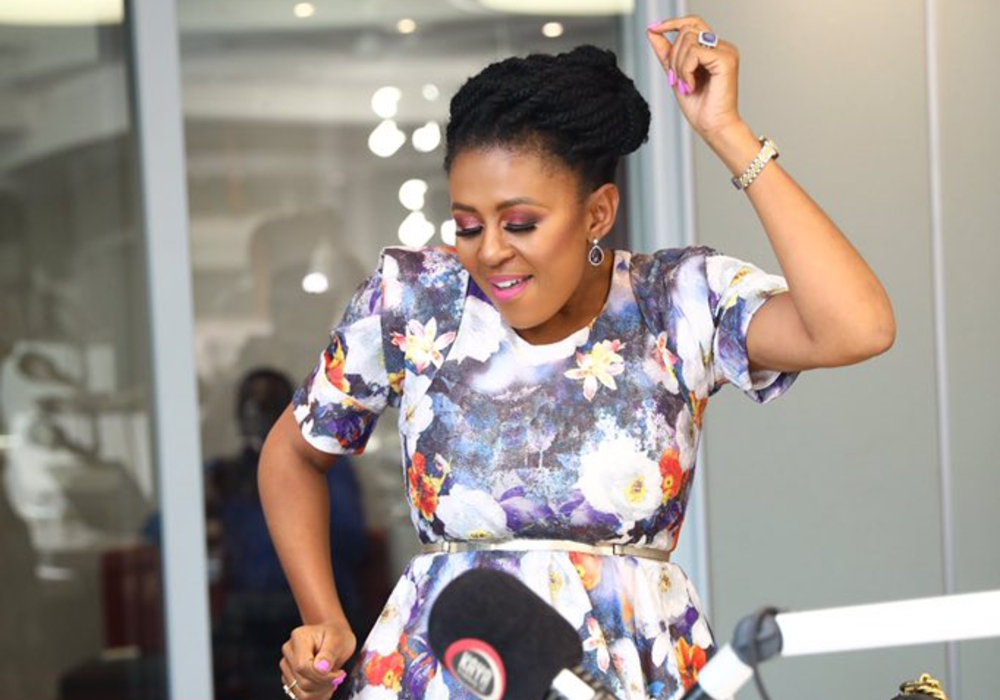 Basetsana Kumalo Struts To The Song That Played When She Walked The Miss SA Runway in 1994!
