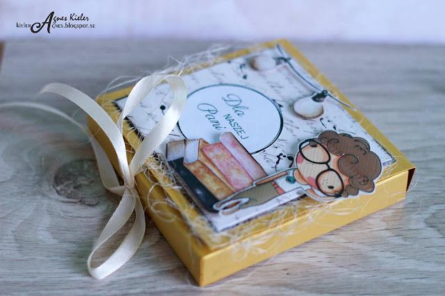 mini-czekoladownik w kolorze złotym