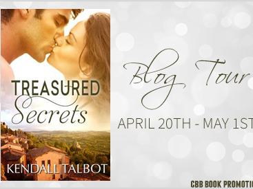 BLOG TOUR - Treasured Secrets by Kendall Talbot  **GIVEAWAY**