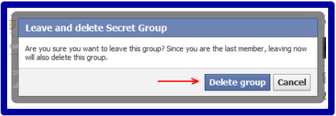How Do I Delete A Group I Created On Facebook