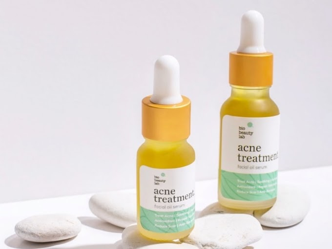 Review Bio Beauty Lab Acne Treatment Facial Oil Serum