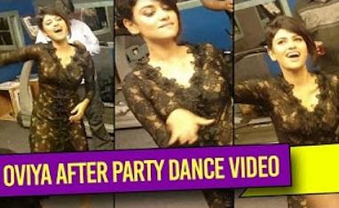 OVIYA Kuthu Dance at BIGG BOSS afterparty