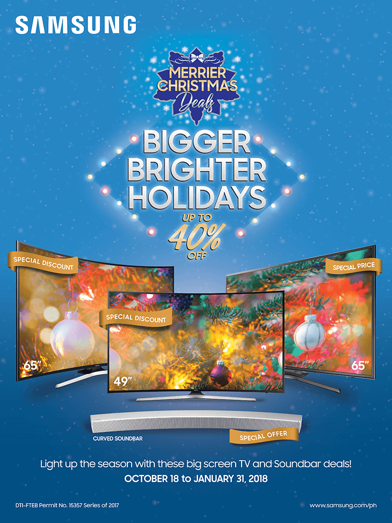 Samsung's Bigger Brighter Holidays Promo