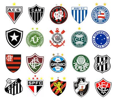 Resultado de imagem para todos os escudos dos times brasileirao 2017