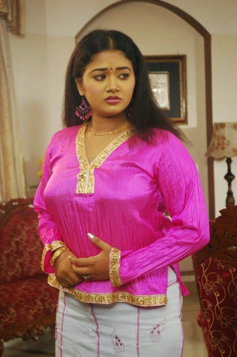 Saranya Sasi Hot Picsmalayalam Serial Actress Saranya -1796