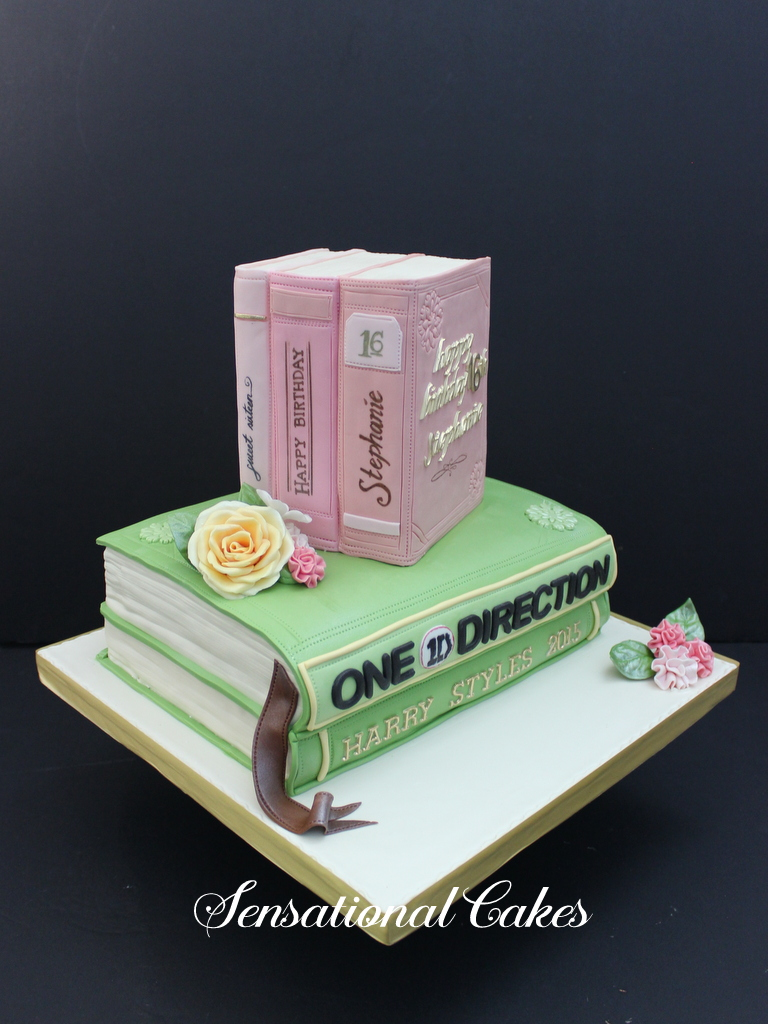 The Sensational Cakes 3d Book Cake Theme Birthday Cake
