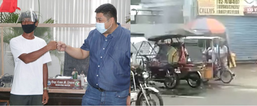 Buko Juice Vendor, Walang pagdadalawang isip na binuhos ang kanyang tinda sa umaapoy na tricycle upang makatulong sa kapwa