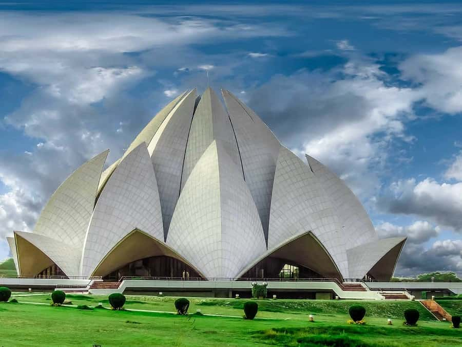 Top 12 Historical Wonders Of India Everyone Should Visit Once   The Lotus Temple