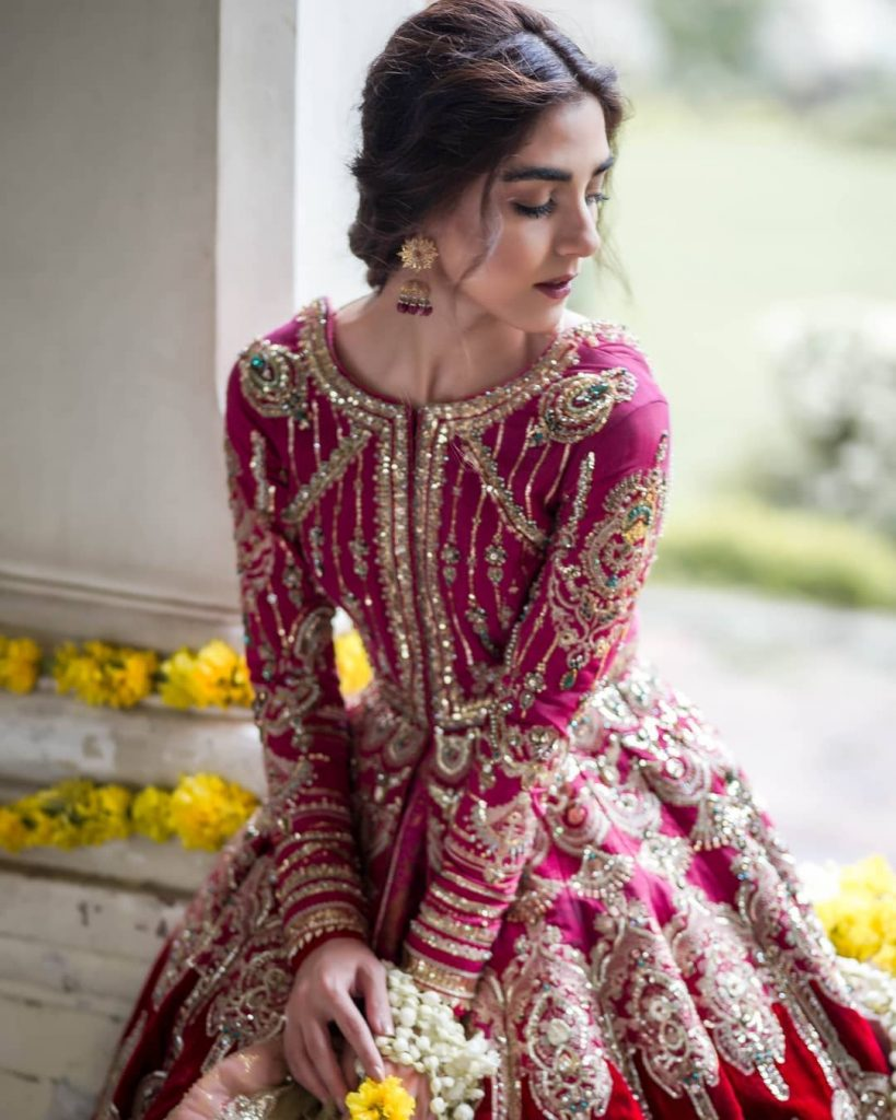 Stunning Photoshoot of Maya Ali