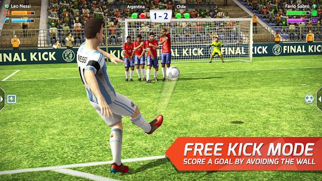 Free Kick Mode