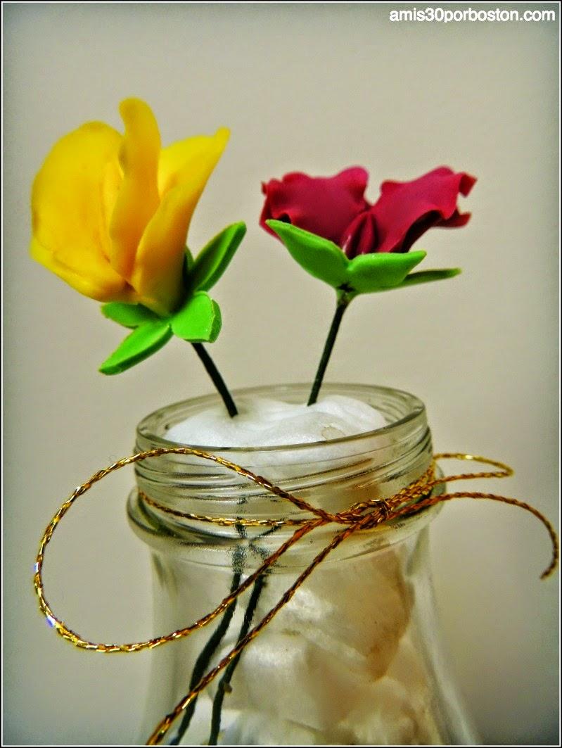 Curso 4 de Decoración Wilton: Flores de Pasta de Goma