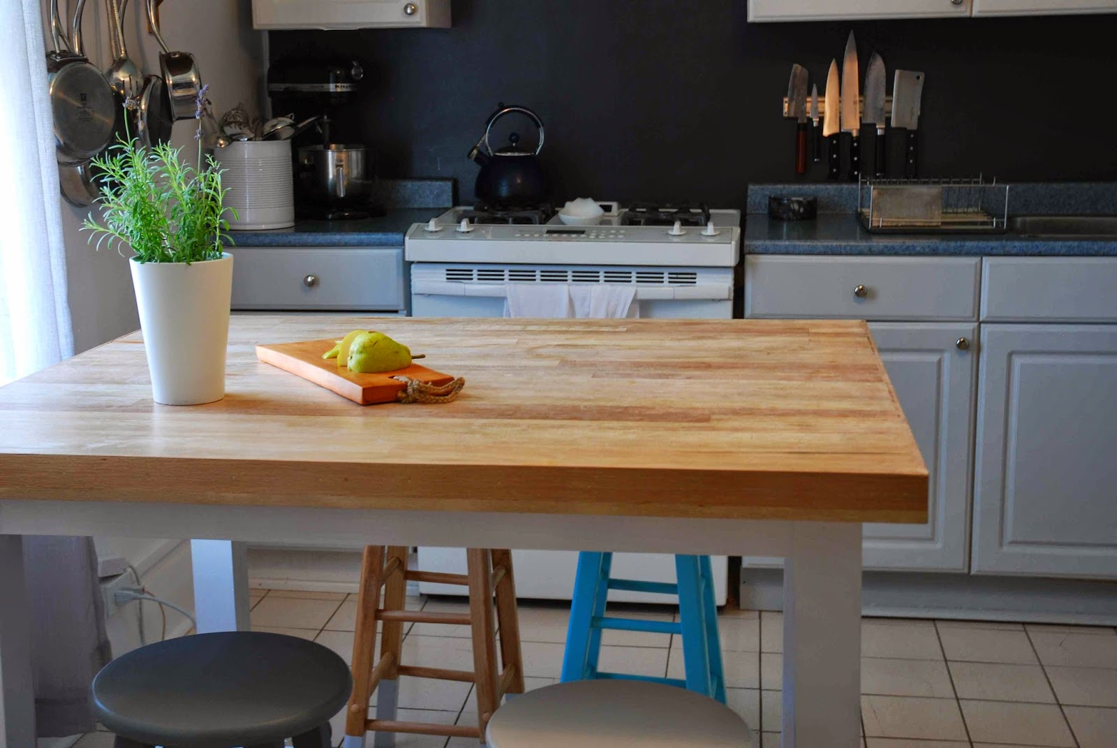 Shayda Campbell: Our Kitchen Island DIY